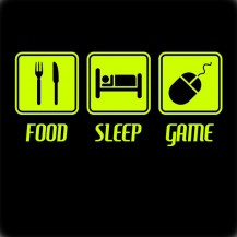 Food Sleep Game