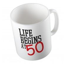 Κούπα Life Begins at  .....