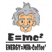 energy=milk+coffee