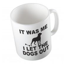 Κούπα i let the dogs out