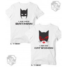 her batman his catwoman Couple