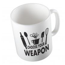 Κούπα Choose Your Weapon Kitchen