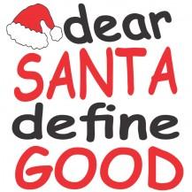 Santa define good