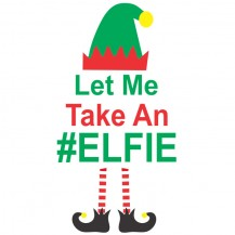 Let me take an elfie