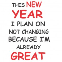 This New Year I Plan On