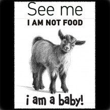 I am Not Food(i am a baby)