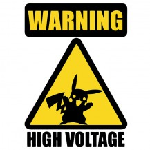 Pikachu High Voltage