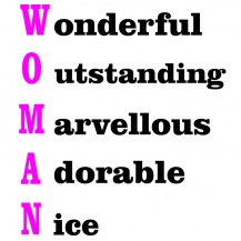 Woman (Definition)