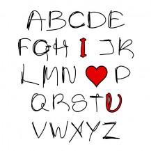 ABCDE I LOVE U