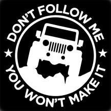 Jeep - Don't Follow Me