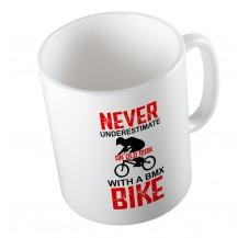 Κούπα Never Underestimate An Old Man With A Bmx Bike