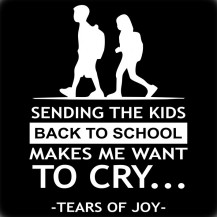 Sending The Kids Back to School Makes Me Cry