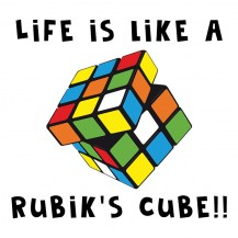 Life Is Like A Rubik's Cube